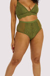 Gabi Fresh Bella Olive High Waist Brief