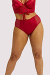 Gabi Fresh Aysha Red High Waisted Brief