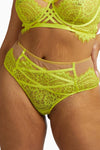 Gabi Fresh Kinsley Neon Strappy High Waist Brief