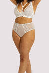 Gabi Fresh Leslie White High Waist Brief