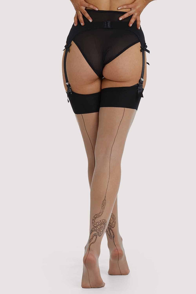 Playful Promises Snake Stockings
