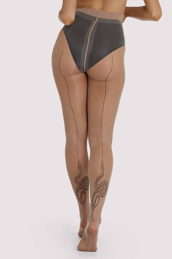 Playful Promises Snake Tights