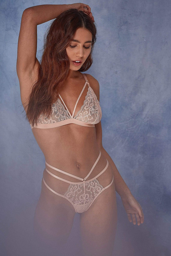 Wolf & Whistle Belle Lace soft cup bra