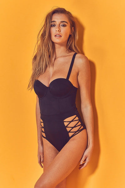 Wolf and whistle underwired swimsuit