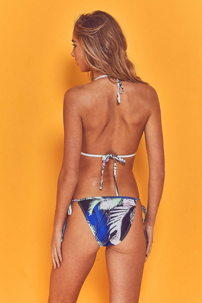 Wolf & Whistle Amara 80s Palm Triangle Bikini Top
