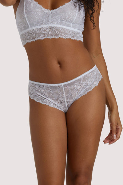 Wolf & Whistle Ariana White Everyday Lace Brief