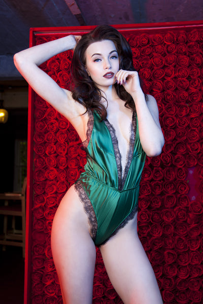 Emerald Green Alicia Teddy