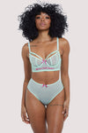 Felicity Hayward Longline Self Love Mint Bra