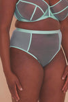 Gabi Fresh Misha Turquoise Strappy Brief