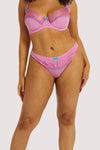 Playful Promises Sophia Pink Curve Hipster Brief