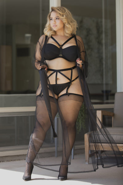 Gabi Fresh On The Rocks Strappy Suspender Belt