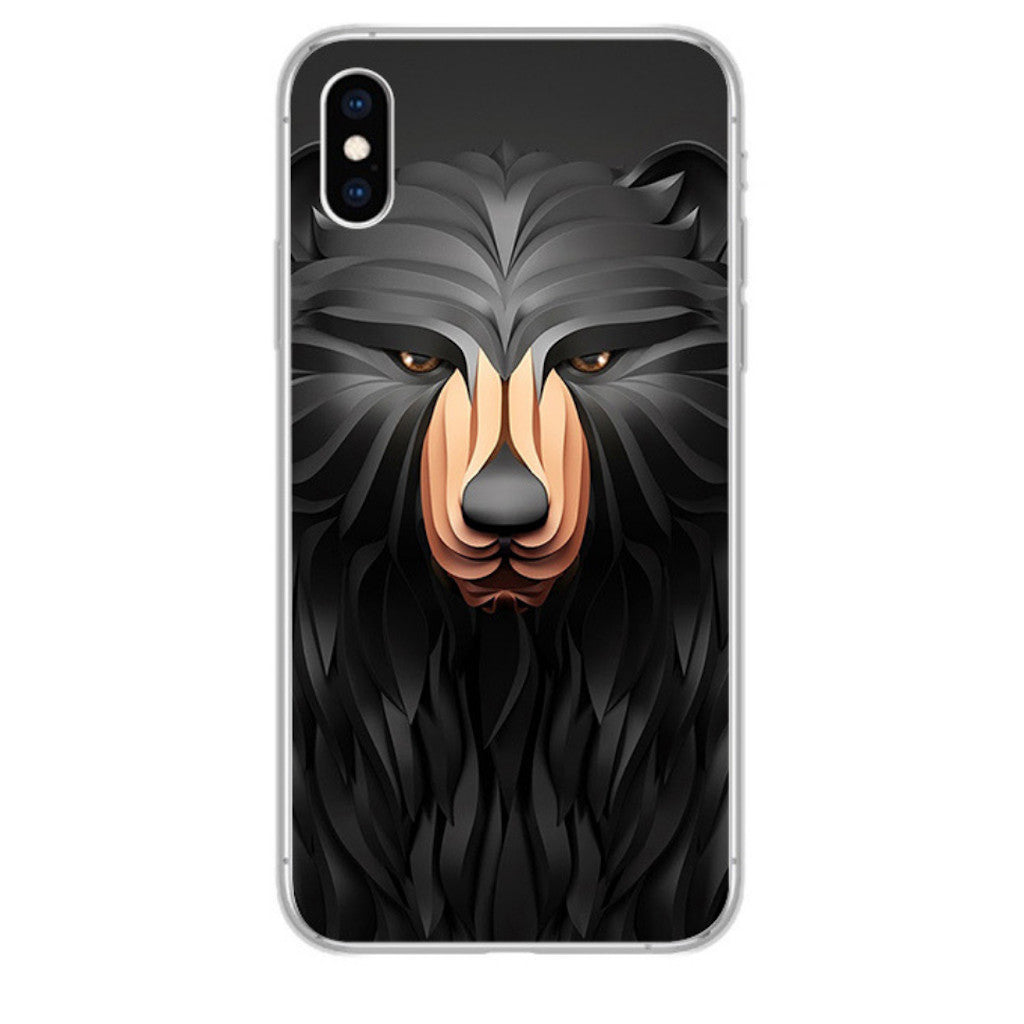 Coque iPhone 3D Ours