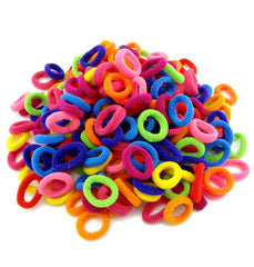 Lilly elastic hair bands are perfect for girls, toddlers and babies. Their soft texture will prevent any hair breakages.