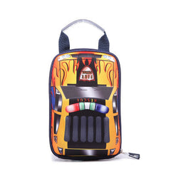 CarMax is a 3D backpack for kids. It is built for kids on the go. Store your lunch, books or guard your gear with a style that shows you are one-of-a-kind.