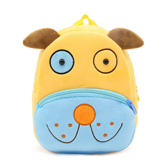 Dog backpack made of soft plush fabric, delightfully soft, snuggly and perfect to hold as a comforter.