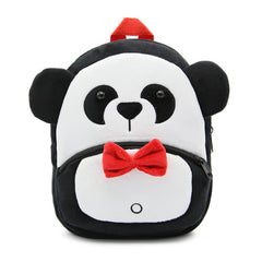 Panda backpack made of soft plush fabric, delightfully soft, snuggly and perfect to hold as a comforter.