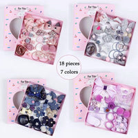 18 Hair Accessories Set