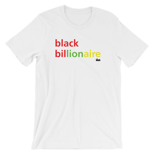 Black Billionaire - Short-Sleeve Unisex T-Shirt