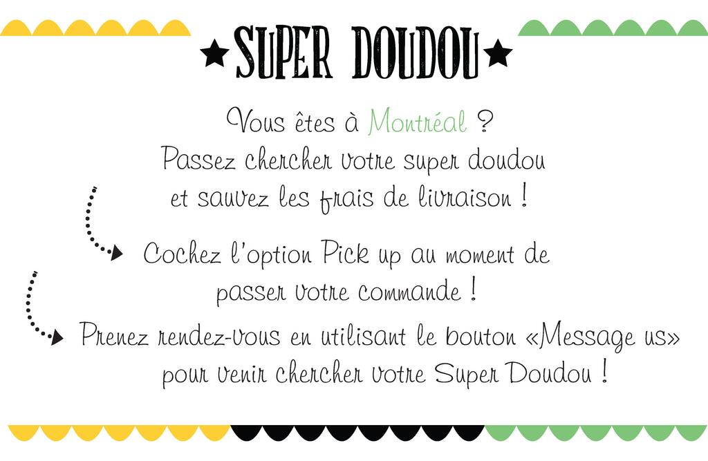 pick up Super Doudou