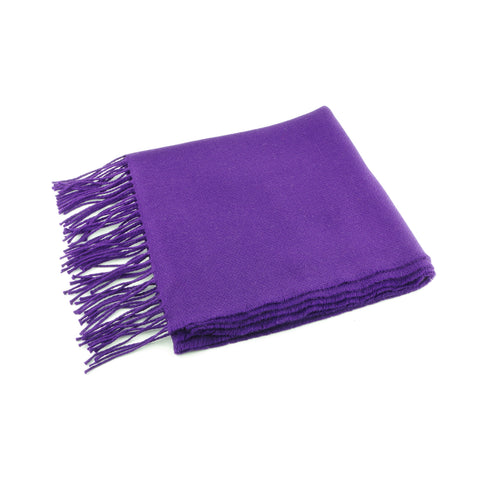 100% lightweight merino wool, made in Ireland, purple