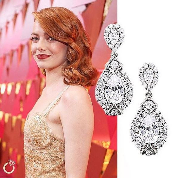 LOOK OF THE DAY - Oscar Worthy Jewels