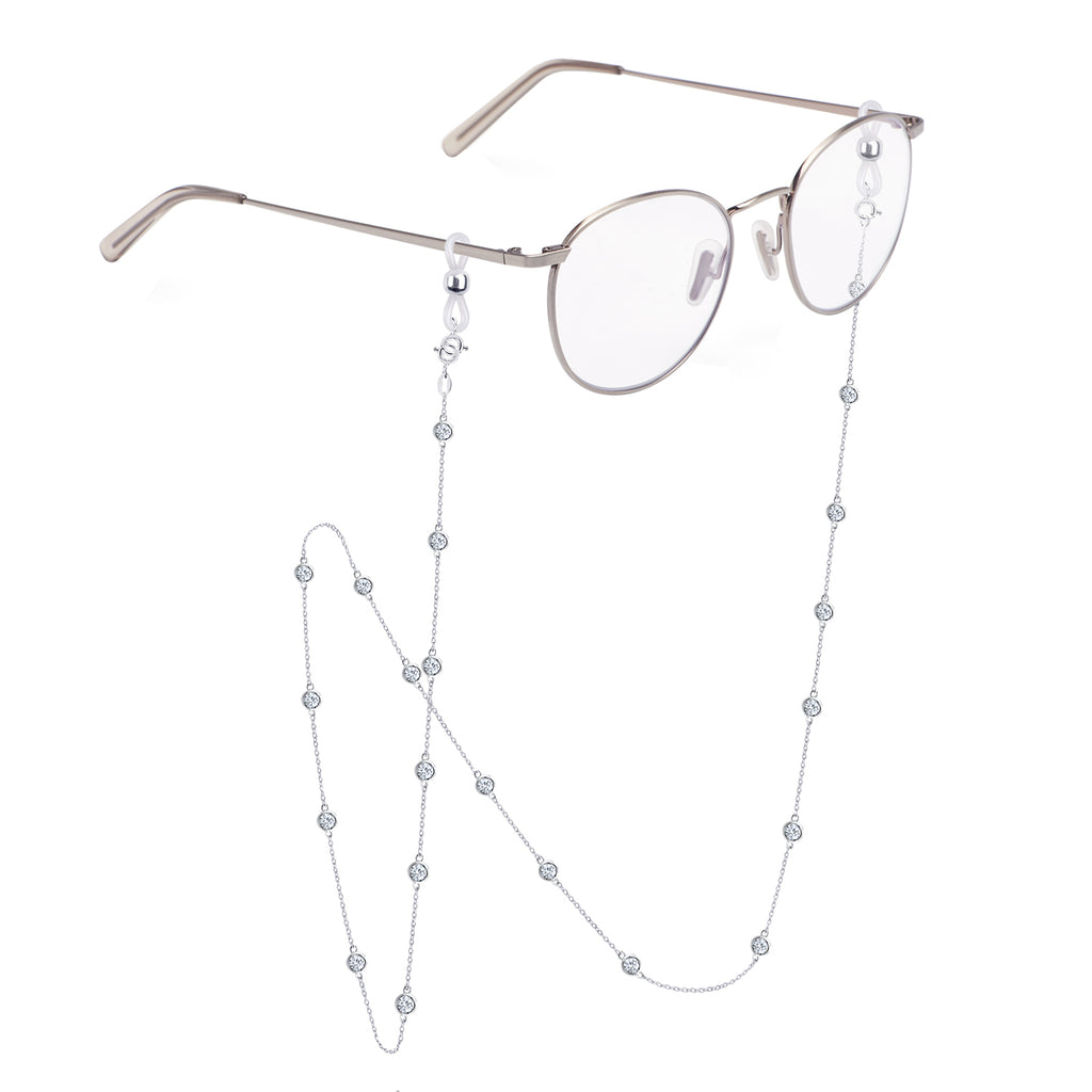 GLOW SOCIETY Eyeglass Chain Ends, Compatible to all necklaces - GEMOUR