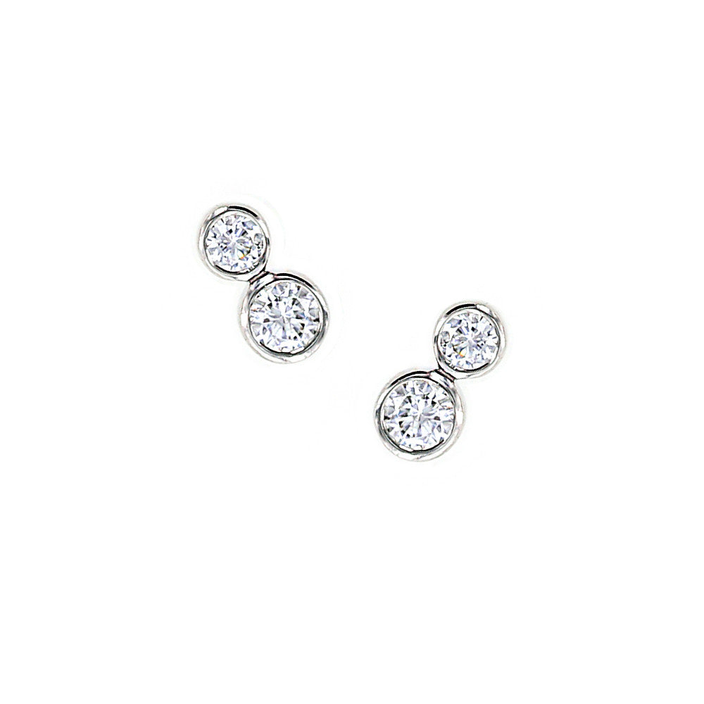 stud total weight diamond gold earrings white multi p carat stone