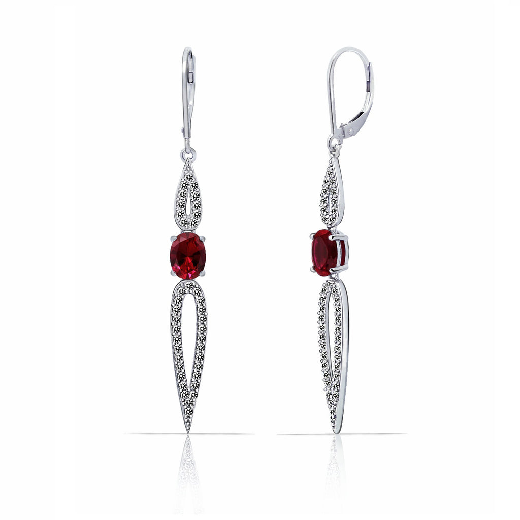 Kiera Couture PAVE PETAL EARRINGS - GEMOUR