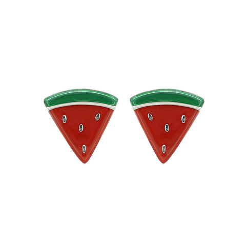 GLOW SOCIETY Fruit Collection - Crystal Cherry Stud Earrings