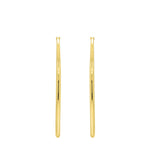 GLOW SOCIETY ATELIER DISKS COLLECTION - Classic Click Top Hoop Earrings - GEMOUR