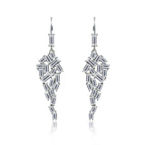 BAGUETTE CASCADE EARRINGS - GEMOUR