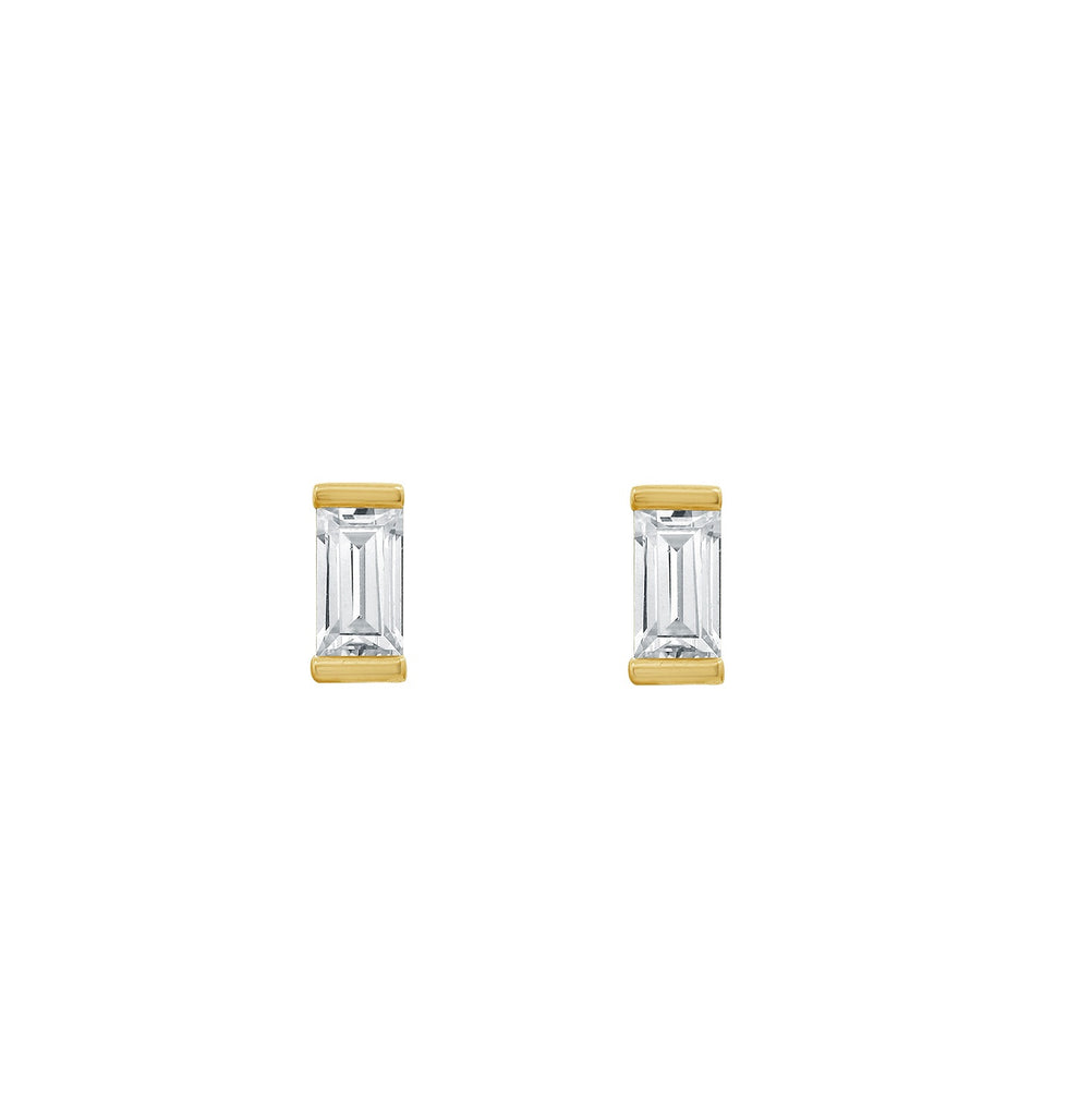 J'ADMIRE-Yellow-Gold-Clad-Sterling-Silver-7x4mm-Baguette-cut-Cubic-Zirconia-Solitaire-Stud-Earrings-(1.5-cttw)