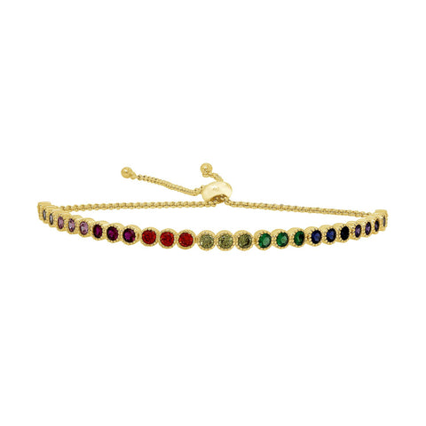 GLOW SOCIETY Shades of Rainbow Collection - Eternity Ring