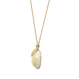 GLOW SOCIETY Ocean Breeze Collection - Cowrie Shells Necklace - GEMOUR