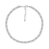 6TH AVE Link Collection - Boyfriend Silver Chain Necklace - GEMOUR