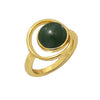 GLOW SOCIETY Bohemian Jive Collection - Halo Stone Ring - GEMOUR