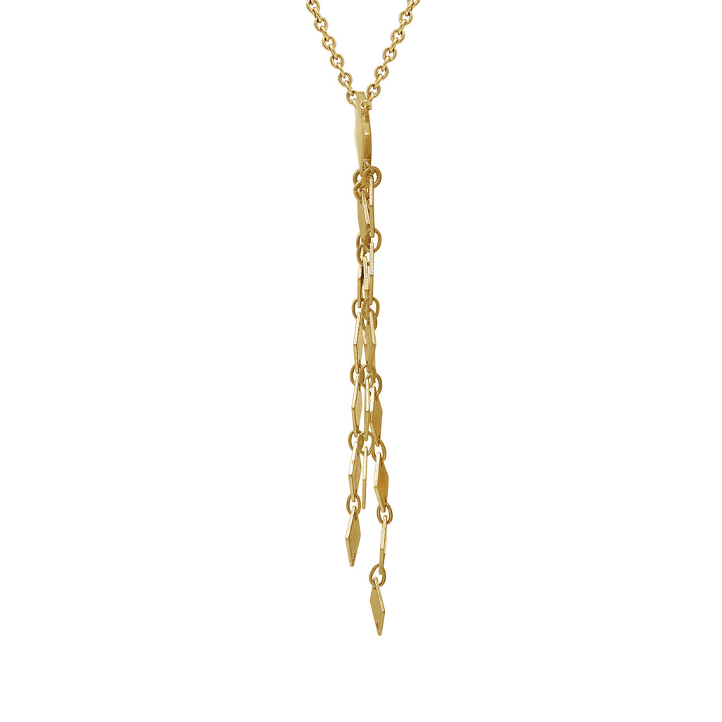 GLOW SOCIETY Quadrangle Necklace - GEMOUR