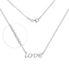 KIERA VENEZIA Sterling Silver Rolo Chain Necklace with