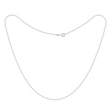 KIERA VENEZIA Sterling Silver Herringbone Chain Necklace - GEMOUR