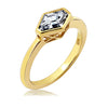 Kiera New York Trapezoid Stone Ring - GEMOUR