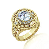 Kiera New York Rope Focal Statement Ring - GEMOUR