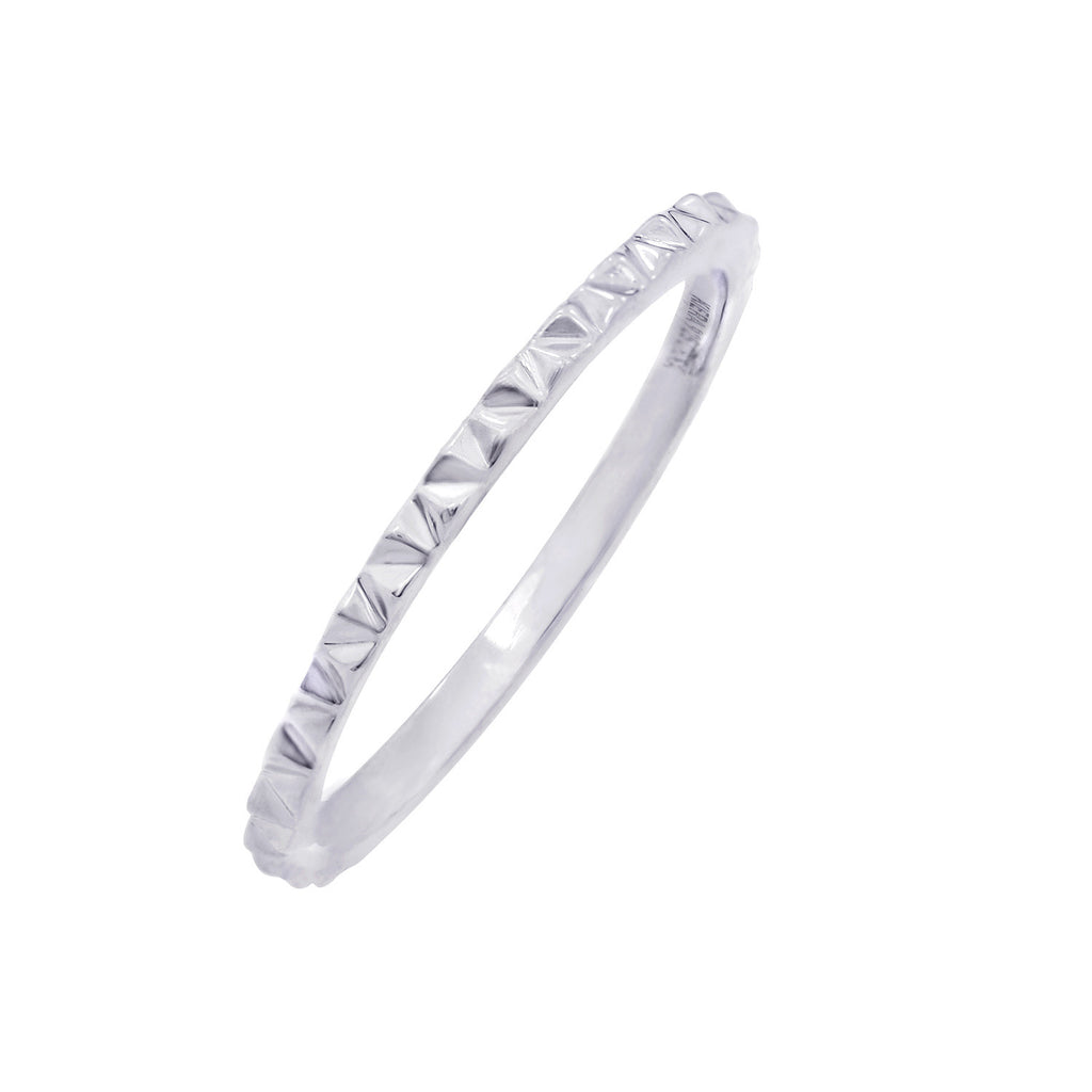 Kiera New York 'Ring Bar' Pyramid Stacking Ring - GEMOUR