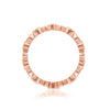 J'ADMIRE Geometry All-Around Eternity Ring - GEMOUR