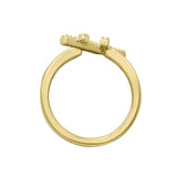 Kiera New York Crisscross Ring - GEMOUR