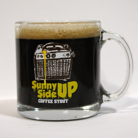 12oz Sunny Side Up Coffee Stout Glass