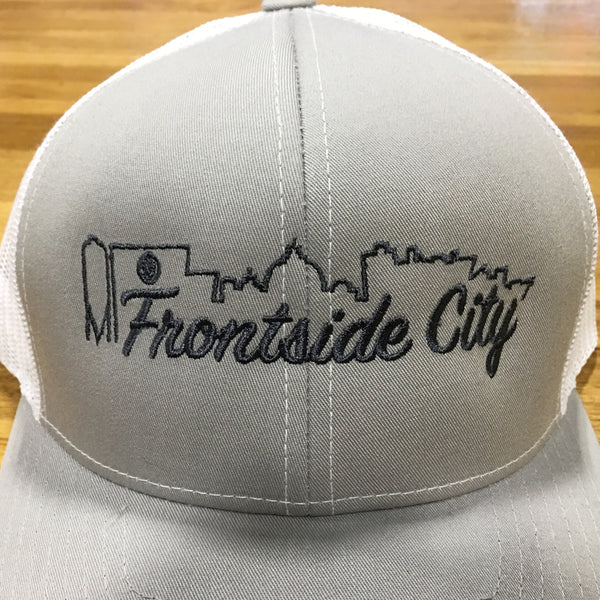 Frontside City Classic Snap Back - Grey Outline