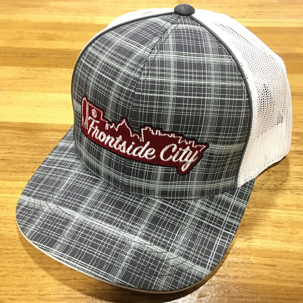 Frontside City Classic Plaid Snap Back