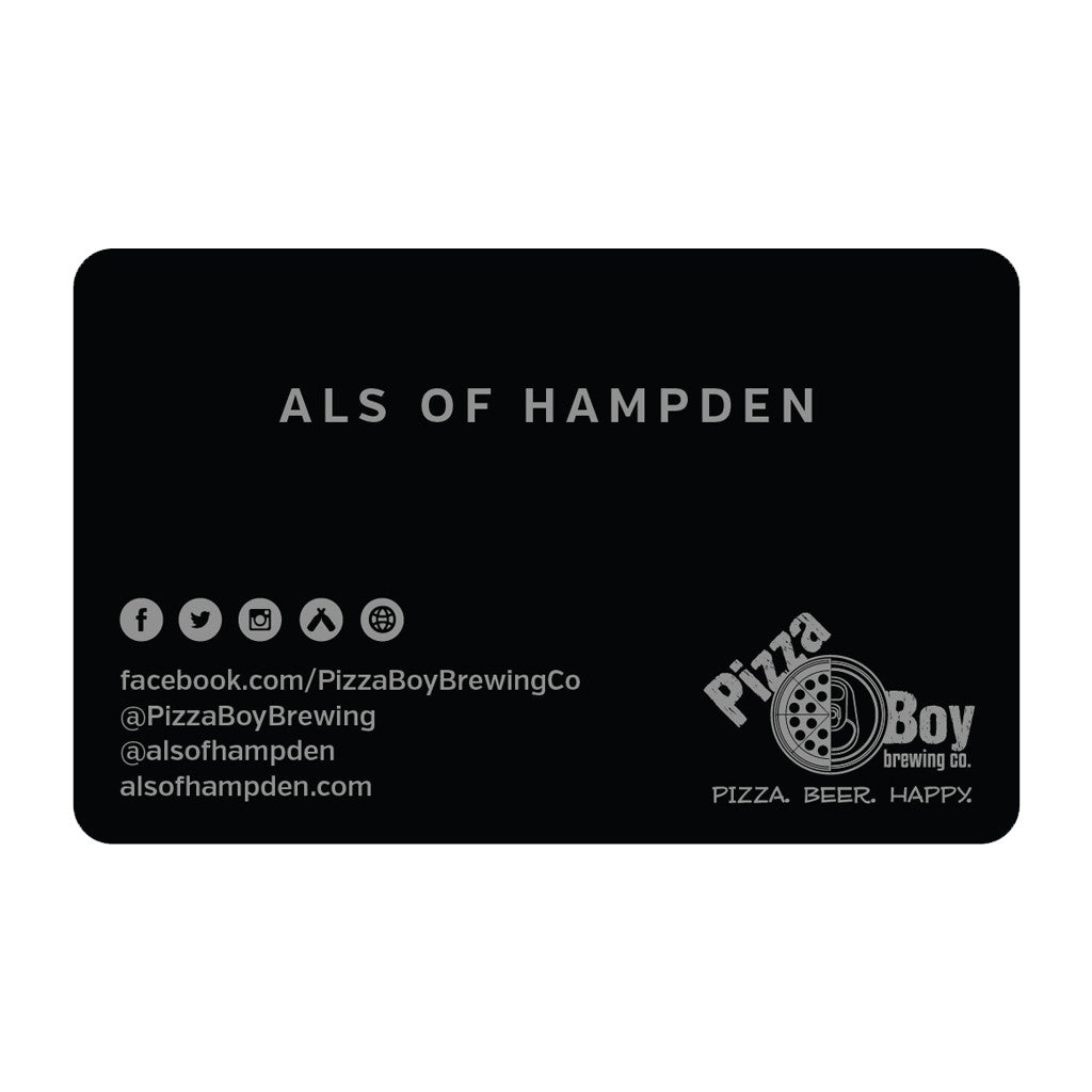 Als of Hampden Gift Card - $10.00