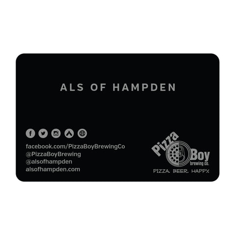 Als of Hampden Gift Card - $25.00