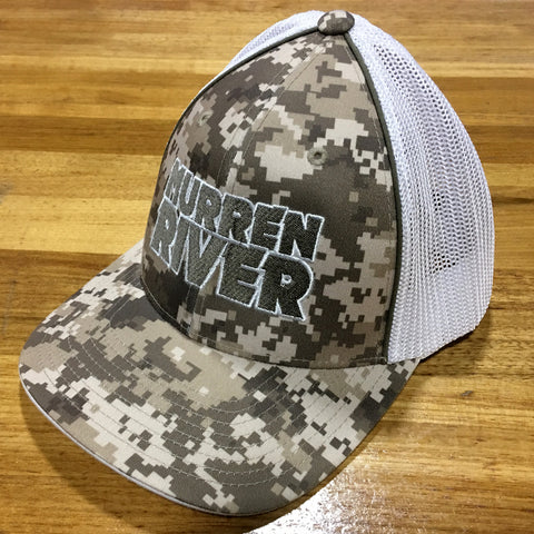 Murren River Desert Camo Fitted Mesh Cap